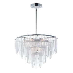 Glacier-9 Light Chandelier-24 Inches wide by 17 inches high