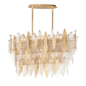 Majestic-18 Light Chandelier-16.5 Inches wide by 24 inches high