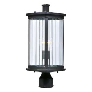 Terrace 19.25 Inch Outdoor Wall Lantern Mission Aluminum/Glass Approved for Wet Locations