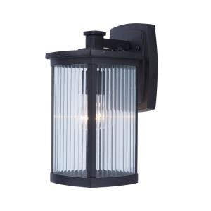 Terrace 13.75 Inch Outdoor Wall Lantern Mission Aluminum/Glass Approved for Wet Locations