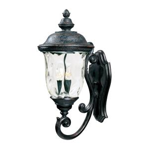 Carriage House DC - 3 Light Outdoor Wall Lantern
