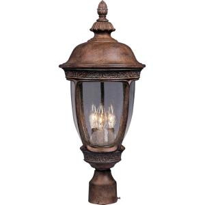 Knob Hill DC - Three Light Outdoor Pole/Post Mount