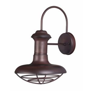 Wharf-Outdoor Wall Lantern Transitional in Transitional style-10 Inches wide by 15.25 inches high