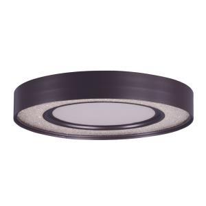 """Splendor - 15.5"""" 24W 1 LED Round Flush Mount"""