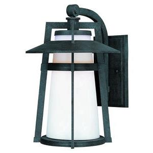 Calistoga-One Light Outdoor Wall Mount in Modern style-9 Inches wide by 12.5 inches high