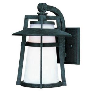 Calistoga-One Light Outdoor Wall Mount in Modern style-10.25 Inches wide by 15.5 inches high