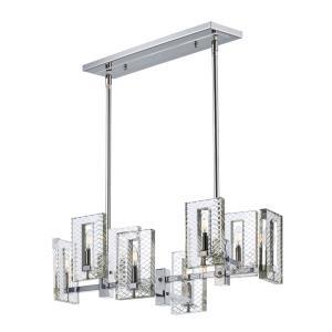 Suave - Eight Light Linear Pendant
