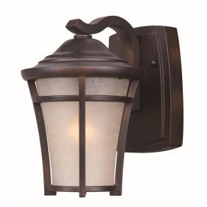 Balboa DC-One Light Mini Outdoor Wall Mount in Craftsman style-6.5 Inches wide by 9.5 inches high
