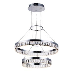 Icycle-44W 1 LED Pendant-23.5 Inches wide by 3 inches high