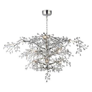 Cluster-14.4W 12 LED Chandelier-47 Inches wide by 27.75 inches high