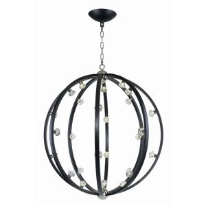 "Equinox - 46.5"" 64.4W 28 LED Pendant"