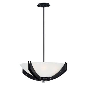 Merge-Four Light Semi-Flush Mount-21.75 Inches wide by 14 inches high