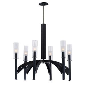 Merge-Six Light Chandelier-29 Inches wide by 28 inches high