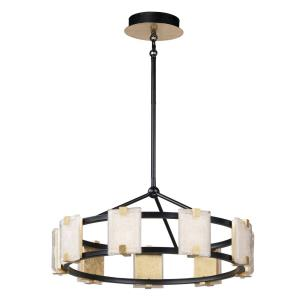 Radiant - 26.75 Inch 54W 9 LED Chandelier