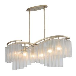 Victoria - Six Light Linear Chandelier