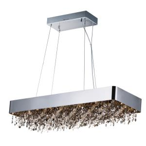 Mystic-66W 22 LED Linear Pendant in Glam style-12 Inches wide by 6.75 inches high