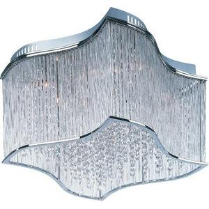 Swizzle-Twelve Light Flush Mount in Crystal style-15 Inches wide by 9 inches high