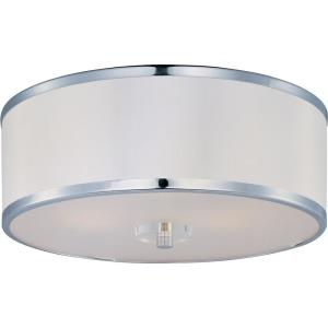 Metro - Three Light Flush Mount