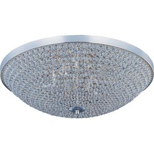 Glimmer - Six Light Flush Mount