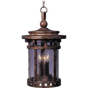 Santa Barbara VX - Three Light Outdoor Hanging Lantern