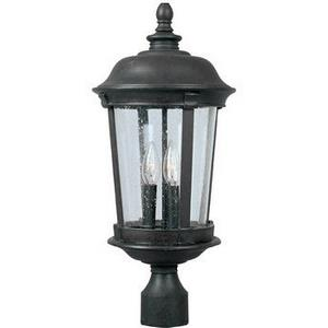 Dover VX - Three Light Outdoor Pole/Post Mount