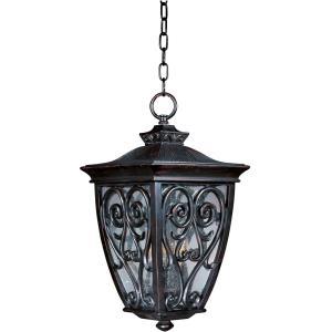 Newbury VX - Three Light Outdoor Hanging Lantern