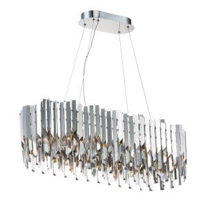 Paramount - 36 Inch 84W 12 LED Chandelier