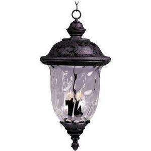 Carriage House VX - Three Light Outdoor Hanging Lantern
