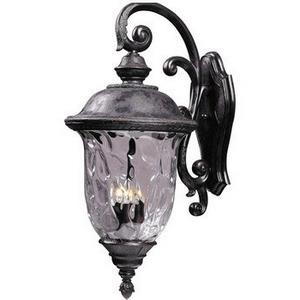 Carriage House VX - Three Light Outdoor Wall Mount