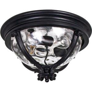 Camden VX - Three Light Outdoor Flush Mount