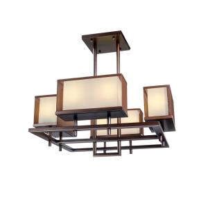 Hennesy-72W 8 LED Linear Pendant-41.25 Inches wide by 17.5 inches high