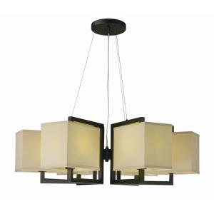 Baldwin-54W 6 LED Pendant-35.5 Inches wide by 12 inches high