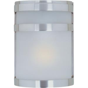 Arc-One Light Outdoor Wall Mount in Contemporary style-6.5 Inches wide by 9 inches high