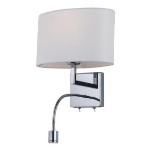 Hotel-9W 1 LED Wall Sconce-11 Inches wide by 21 inches high