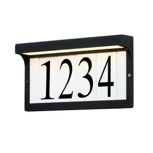 Address - 12.5 Inch 3W 1 LED Light Frame