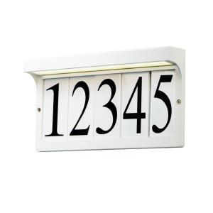 "Address - 12.5"" 3W 1 LED Light Frame"