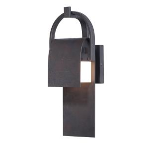 Laredo-9W 1 LED Outdoor Wall Lantern-6 Inches wide by 14.5 inches high