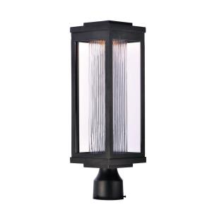 Salon - 19.5 Inch 12W 1 LED Outdoor Post Mount