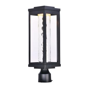 "Salon - 19.5"" 12W 1 LED Outdoor Post Mount"