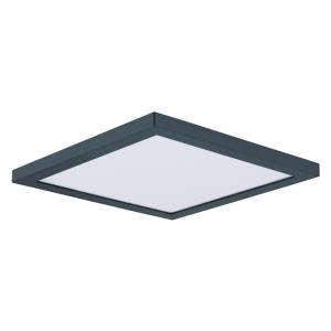 Chip-15W 1 LED Square Flush Mount-6.4 Inches wide by 0.5 inches high