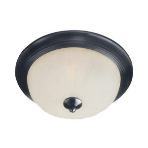Essentials-583x-1 Light Flush Mount in Builder style-13.5 Inches wide by 6 inches high