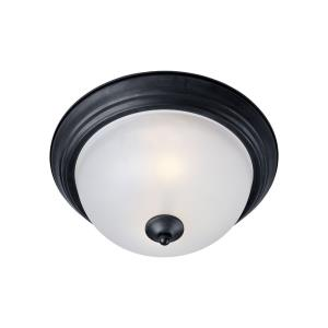 Essentials-584x-1 Light Flush Mount in Builder style-11.5 Inches wide by 6 inches high