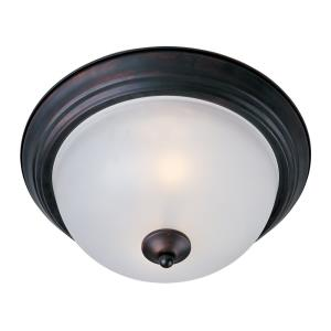 Essentials - 584x - Two Light Flush Mount