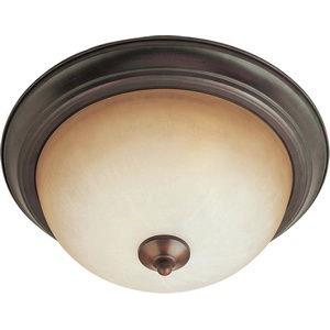 Essentials-Two Light Flush Mount in Builder style-11.5 Inches wide by 6 inches high