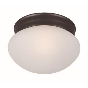 Essentials-One Light Flush Mount in Builder style-7.5 Inches wide by 4.5 inches high