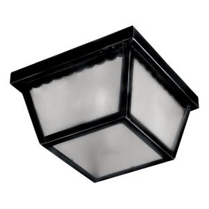 Outdoor Essentials-1 Light Outdoor Flush Mount in Mediterranean style-11.5 Inches wide by 6 inches high