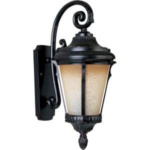 Odessa-9W 1 LED Outdoor Wall Lantern-9 Inches wide by 21.5 inches high