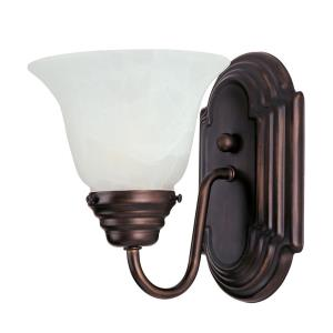 Essentials-1 Light Wall Sconce in Transitional style-10.5 Inches wide by 5.5 inches high