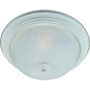 Flush Mount EE-3 Light Flush Mount 13w Cfl Incl in Contemporary style-15.5 Inches wide by 6 inches high