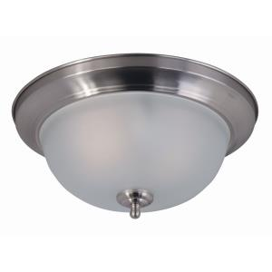 Flush Mount EE-Two Light Flush Mount in Contemporary style-13.5 Inches wide by 6 inches high